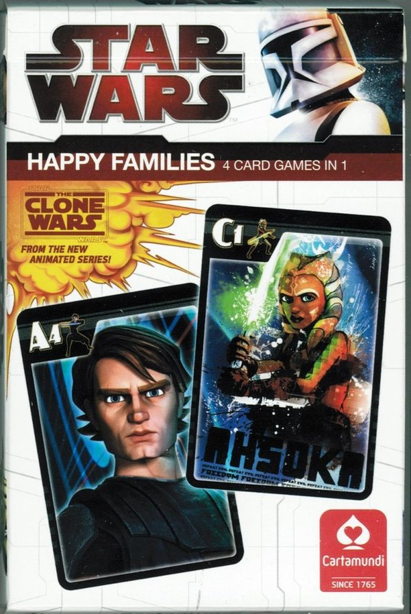 Star Wars Happy Families