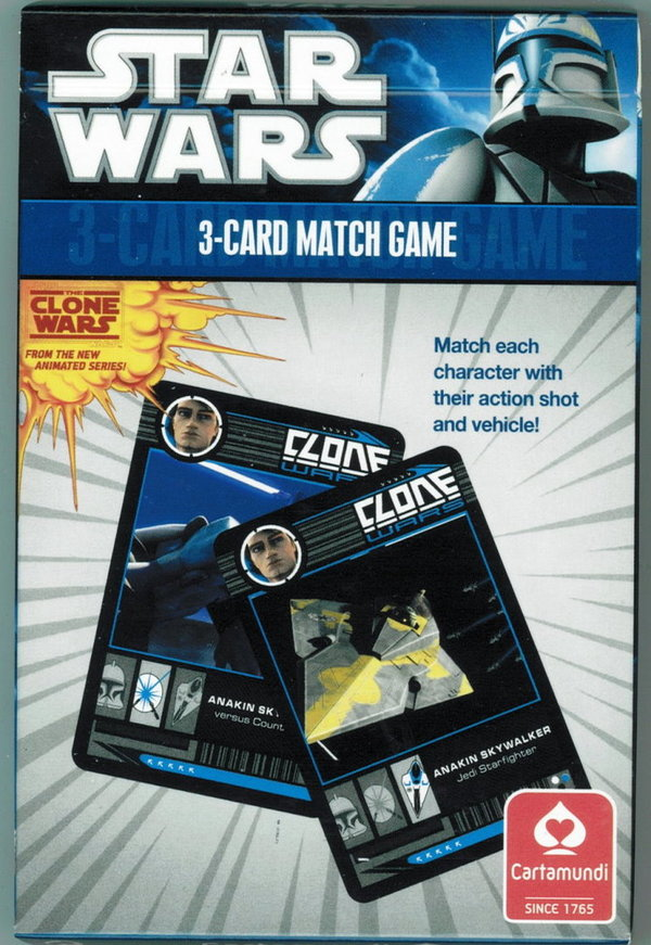 Star Wars - The Clone Wars Spielkarten