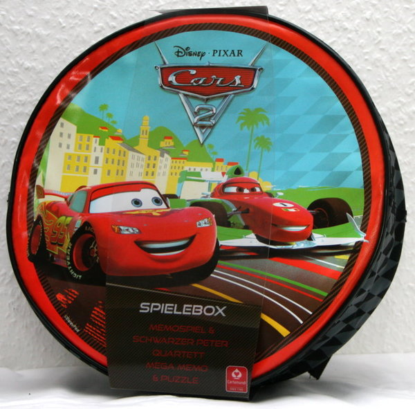 Cars 2 - Spielebox 5 in1